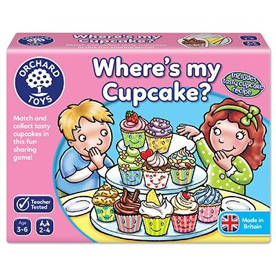 Orchard Toys Wheres My Cupcake Game