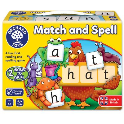 Orchard Toy Match And Spell Game