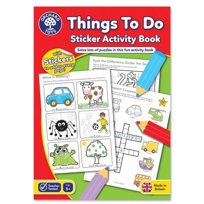 Orchard Toys Things To Do Activity Book