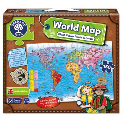 Orchard Toys World Map Jigsaw