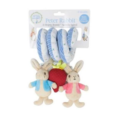 Beatrix Potter Peter Rabbit Activity Spiral Toy