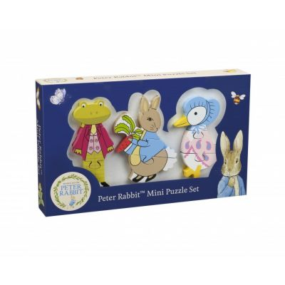 Orange Tree Toys Peter Rabbit Mini Puzzle Set