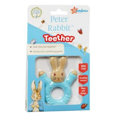 Beatrix Potter Peter Rabbit Silicone Teether