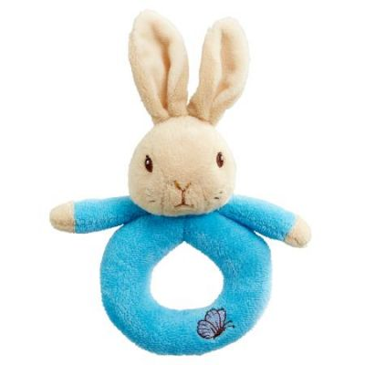 Beatrix Potter Peter Rabbit Plush Ring Rattle
