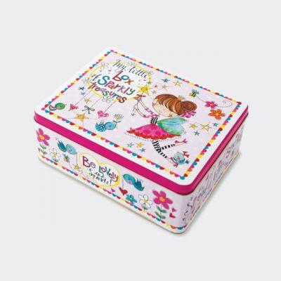 Rachel Ellen Box Of Sparkly Treasures Tin