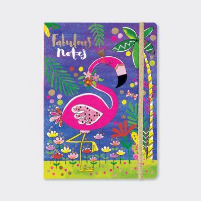 Rachel Ellen Fabulous Flamingo Notebook