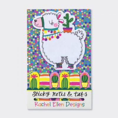 Rachel Ellen Llama Sticky Notes