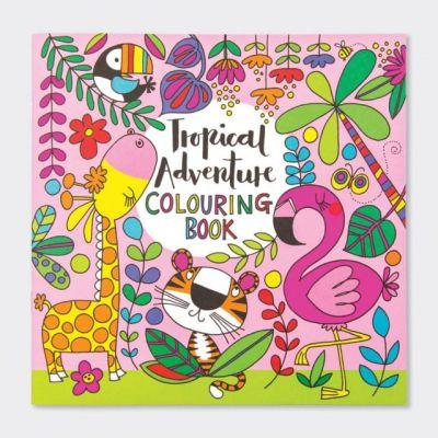 Rachel Ellen Tropical Adventure Colouring Book