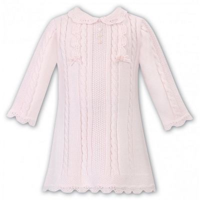 Sarah Louise Baby Girls Knitted Dress 008091