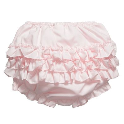 Sarah Louise Frilly Knickers Pink