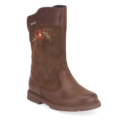 Start-Rite Girls Splash Brown Boot
