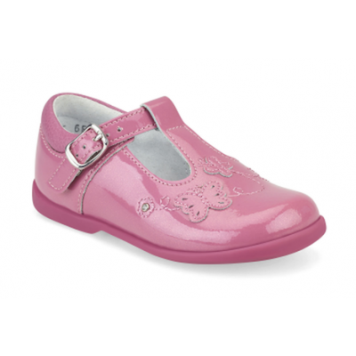 Start-Rite Girls Sunshine Pink Glitter Shoe