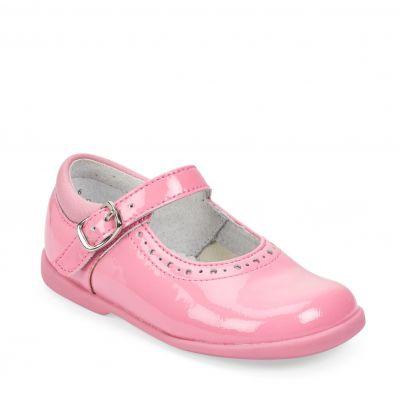 Start-Rite Girls Happy Pink Patent Shoe