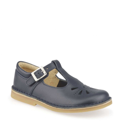 Start-Rite Girls Lottie Navy T-Bar Shoe