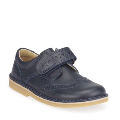 Start Rite Boys Velcro Shoe Ludo Navy