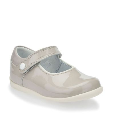 Start Rite Girls Grey Mary Jane Shoe Nancy