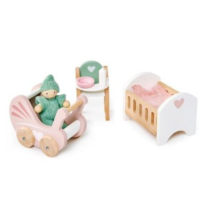 Tender Leaf Toys Dolls House Nursery Set