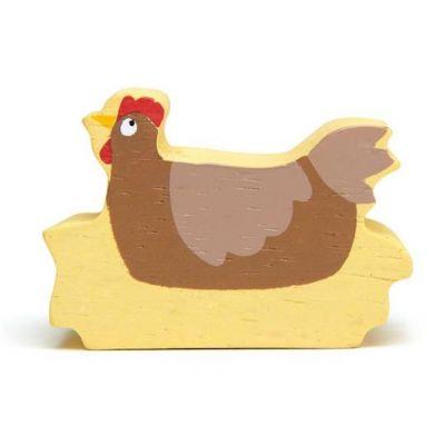 Tender Leaf Toys Farmyard Chicken