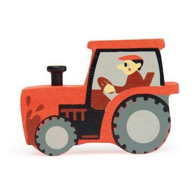 Tender Leaf Toys Farmyard Tractor