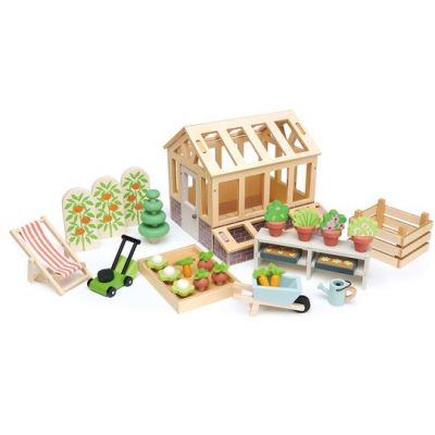 Tender Leaf Toys Greenhouse & Garden Set
