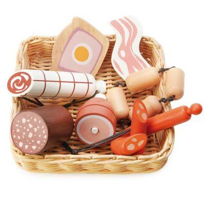 Tender Leaf Toys Market Charcuterie Basket