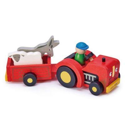 Tender Leaf Toys Tractor & Trailer