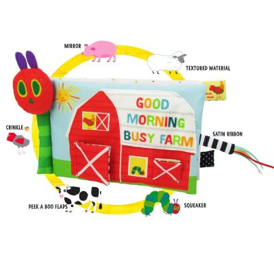 The Very Hungry Caterpillar Farm Soft Book