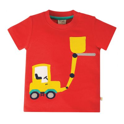 Frugi Baby Boys Polzeath Pocket T-Shirt TTS018