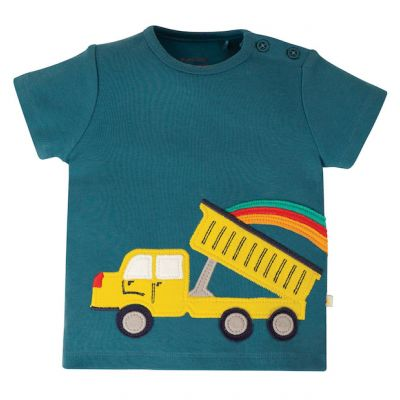 Frugi Baby Boys Scout Truck T-Shirt TTS020