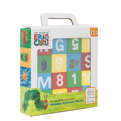 Very Hungry Caterpillar & Friends Wooden Alphabet Blocks