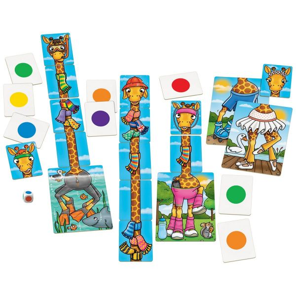 Orchard Toys Giraffes in Scarves Game