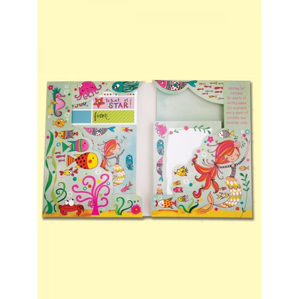 Rachel Ellen WS21 Mermaid Writing set