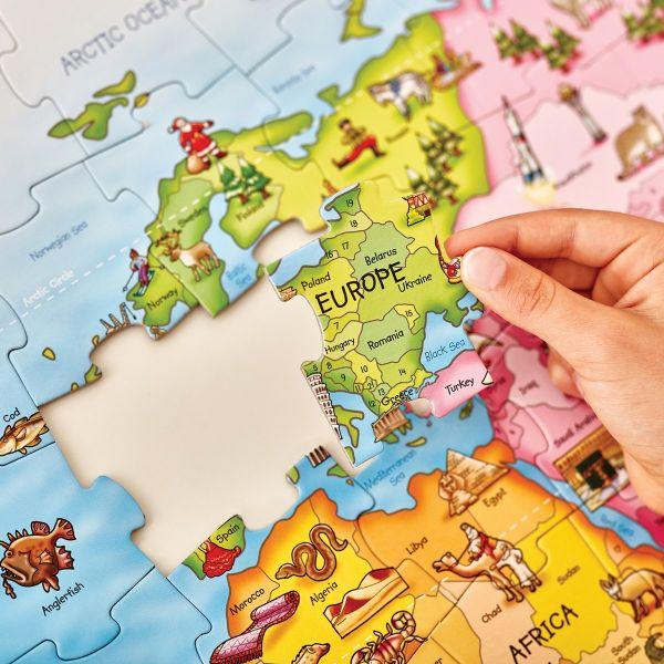 Orchard Toys World Map Jigsaw