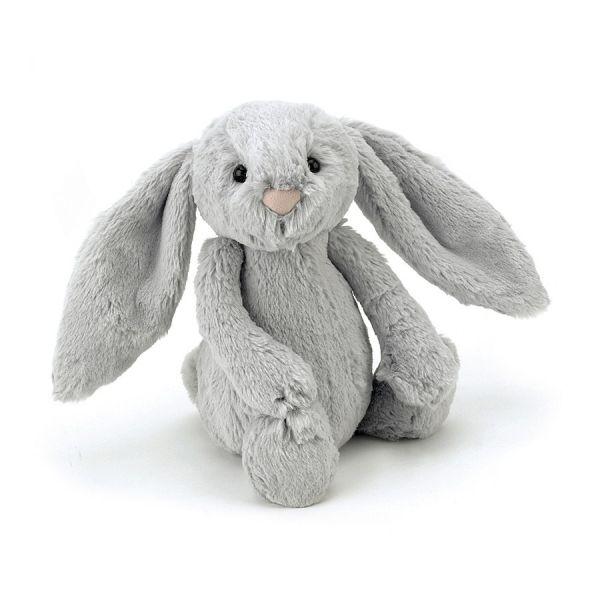 Jellycat Bashful Bunny Small-Silver
