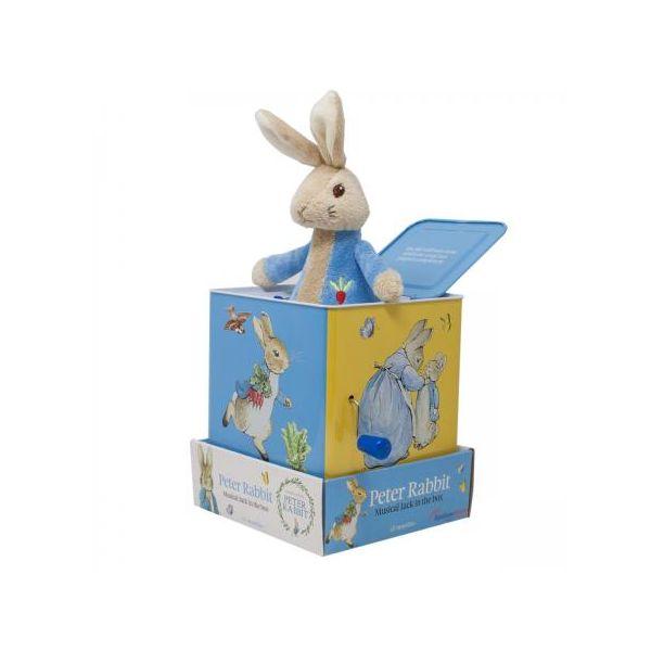 Beatrix Potter Peter Rabbit Jack the Box