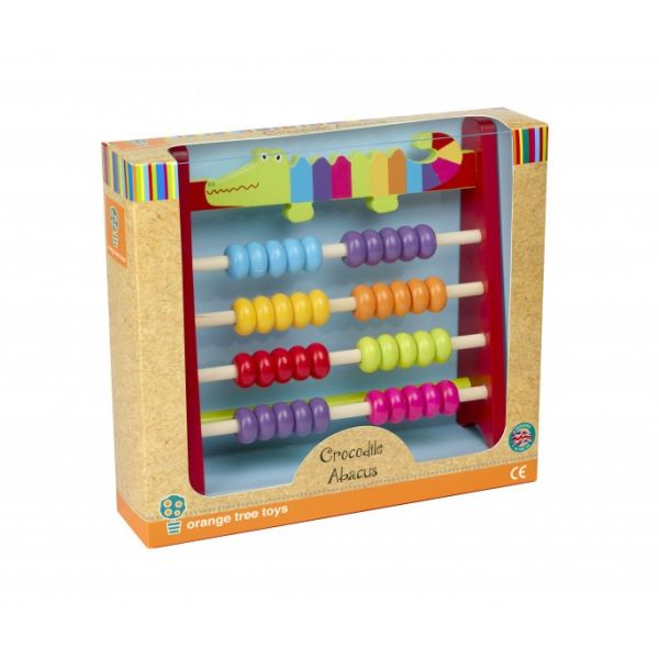 Orange Tree Crocodile Abacus