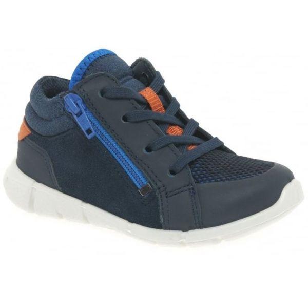 Ecco Boys Navy Boot 75452159755