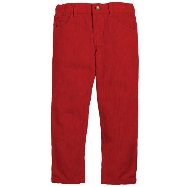 Frugi Boys Callum Red Cords TRA952