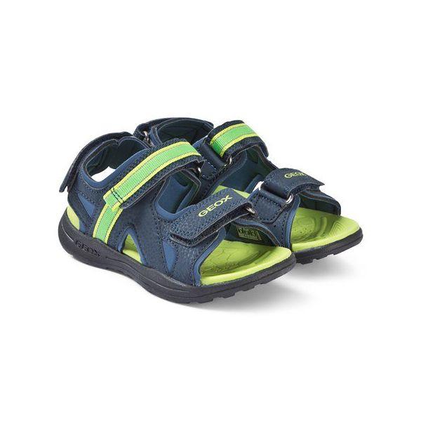 Geox Boys Gleeful Lime Sandal J926YA 015CE C0749
