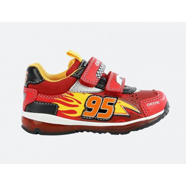 Geox Lightning McQueen Trainer B1684B 0BUCE C0020