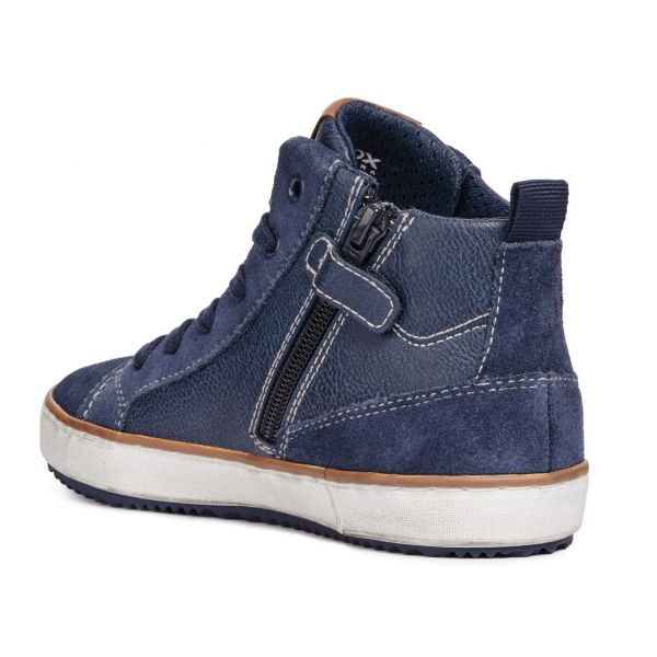 Geox Boys Hi Top Boot J842CB 05422 C4002
