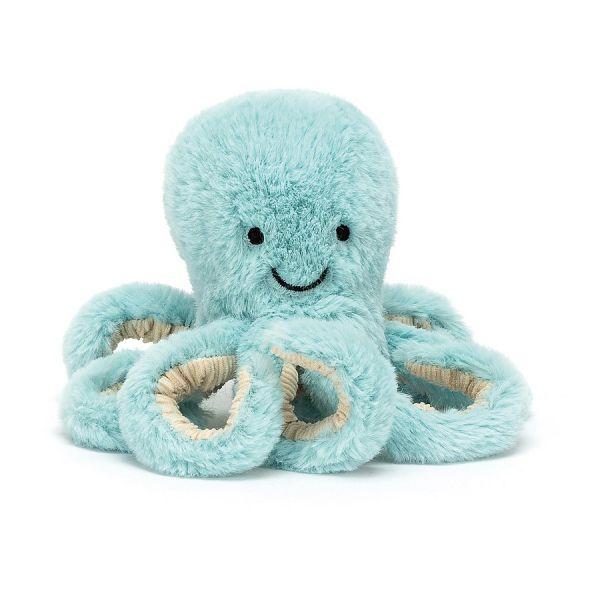 Jellycat Bobbie Blue Octopus (Tiny)