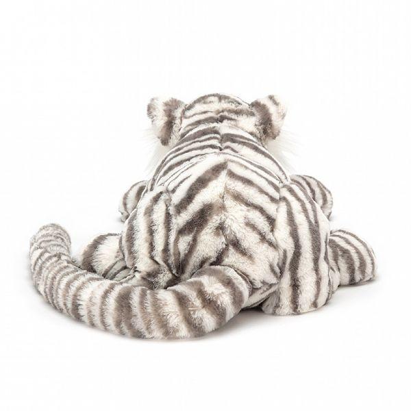 Jellycat Sacha Snow Tiger