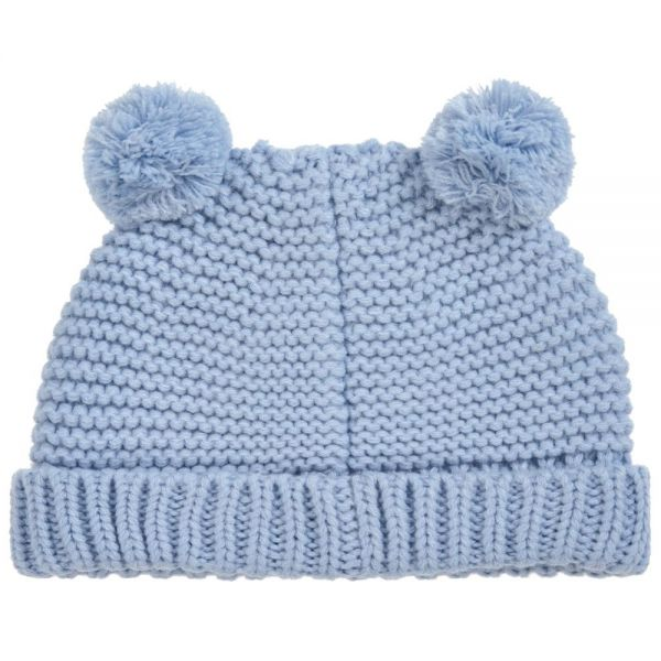 Joules Baby Boys Blue Pomb Hat