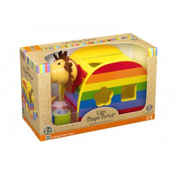 Orange Tree Lion Shape Sorter Toy
