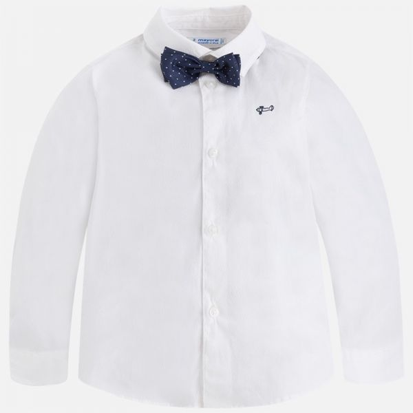 Mayoral Boys Shirt and Bowtie 3164