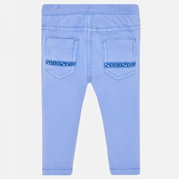 Mayoral Baby Boys Drawstring Blue Trousers 1521