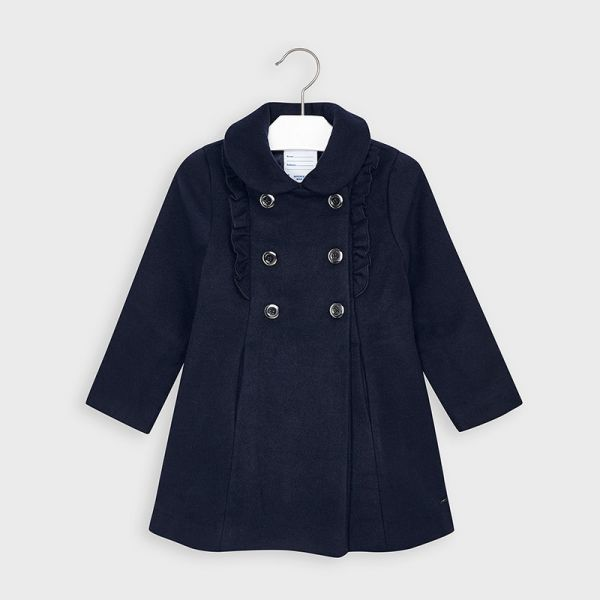 Mayoral Girls Navy Coat 4409