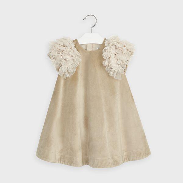 Mayoral Velvet Dress 4965