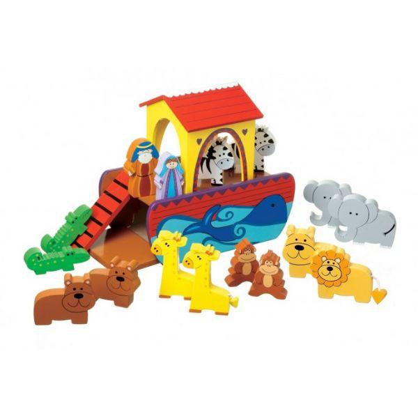 Orange Tree Noah's Ark Play Set